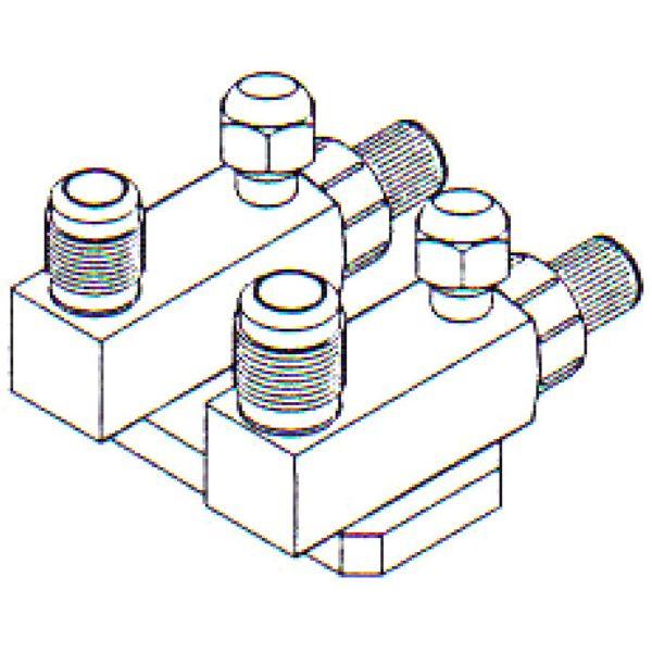 FT 0176 Bolt On Compressor Fitting 1