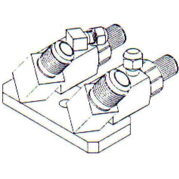 FT 0177 Bolt On Compressor Fitting 1