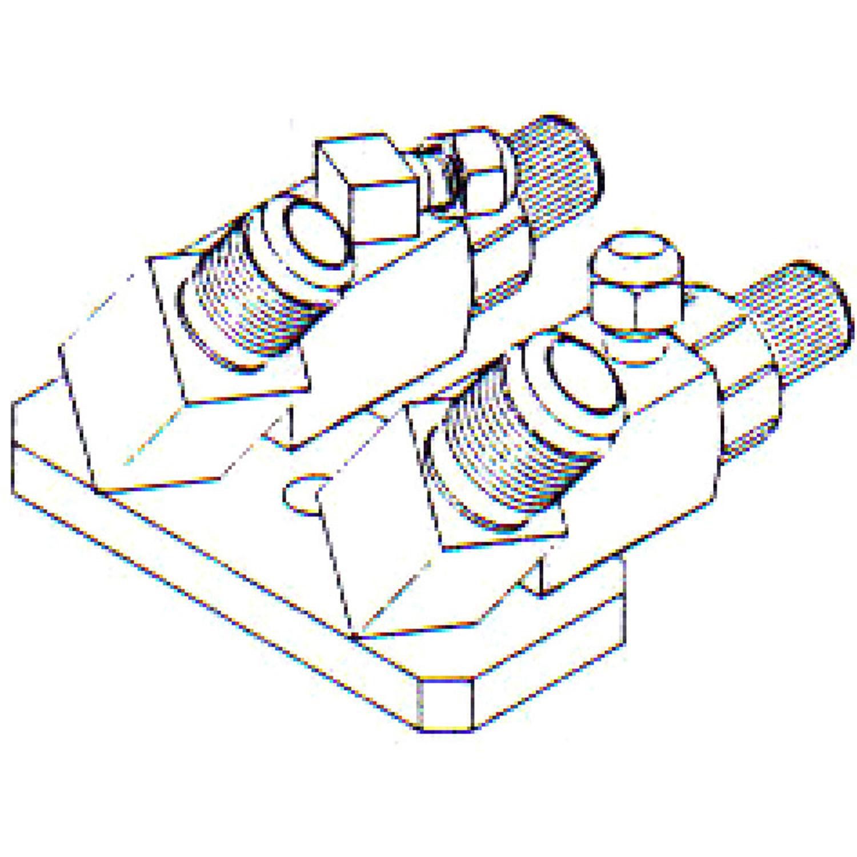 FT 0177 Bolt On Compressor Fitting