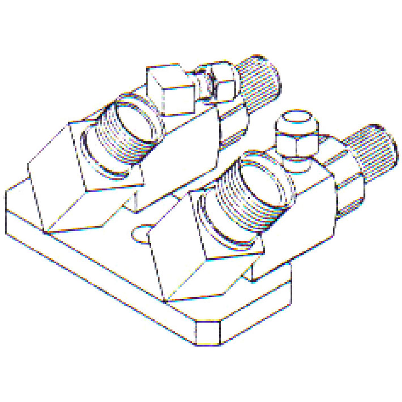 FT 0178 Bolt On Compressor Fitting