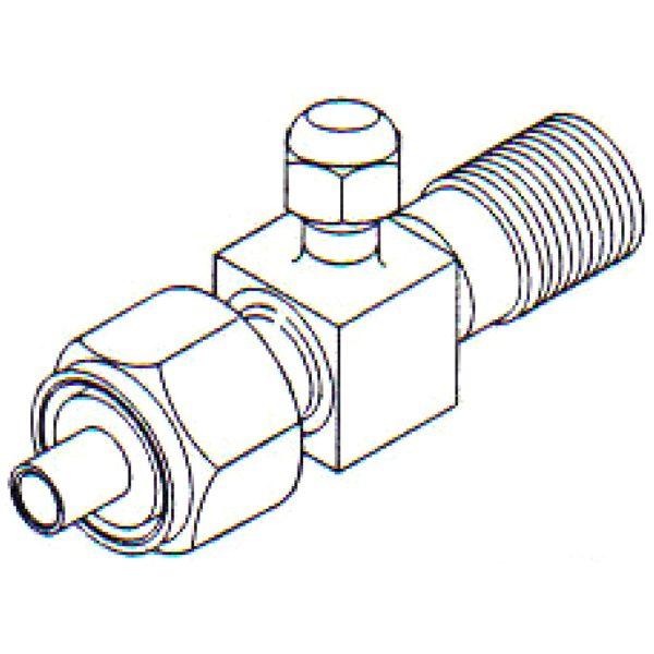 FT 0210 Compressor Service Valve 1