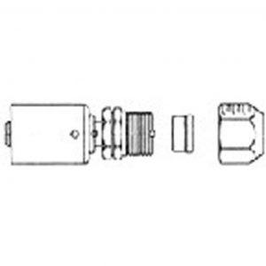 FT 2901SRB Compression Fitting