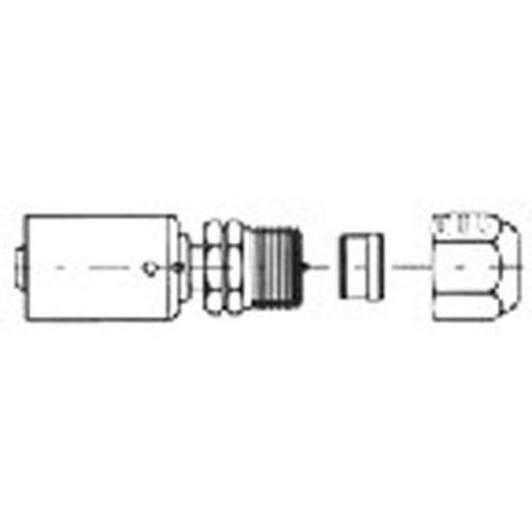 FT 3001SB Compression Fitting 1