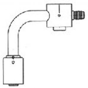 FT 5625-1 Bolt On Compressor Fitting