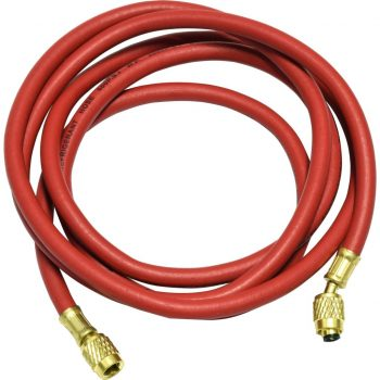 "red 96"" hose with standard fittings for R12"