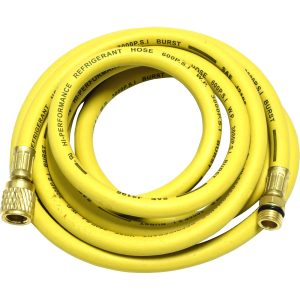 "yellow 96"" hose for R-134a"