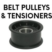 belt pulleys and tensioners