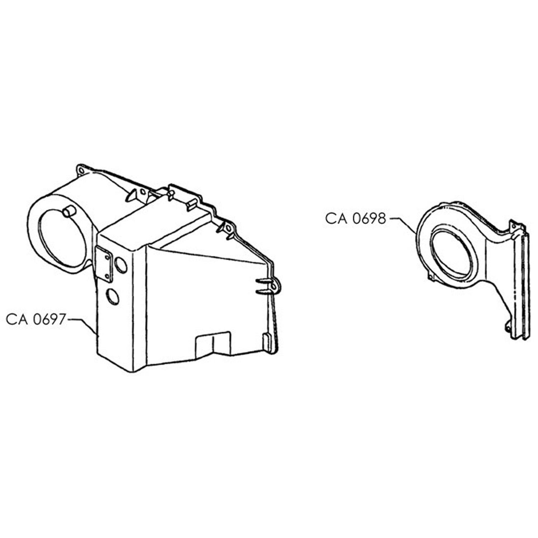 Evaporator Case S-10 CASE
