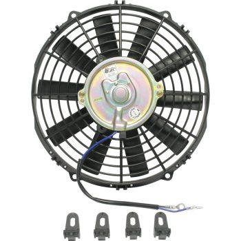 Condenser Fan 10 STRAIGH 12V W/BRK