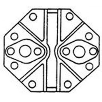 Compressor Head FL HD ASSY W/GASKET
