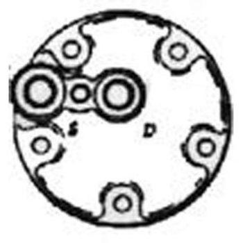 Compressor Head QM HEAD PAD