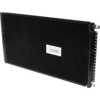 Condenser Parallel Flow PFLOW 13.85X25 4RAILS