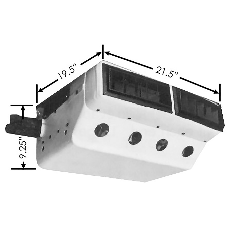 Evaporator Plate Fin EV for UN 0888C, UN 0889C, UN 0890C