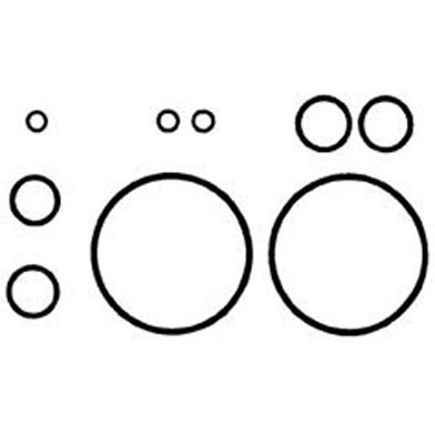 Oring Seal and Gasket Kit A6 OR KIT