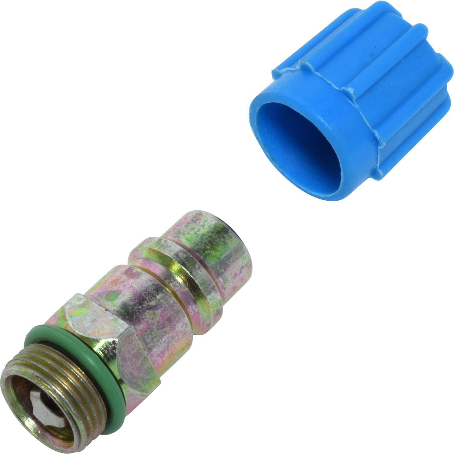 Service Port Adapter LOW SIDE HI FLOW FTG