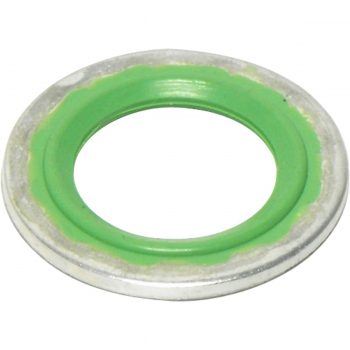 Sealing Washer Round GREEN SLIM LINE SEALING WASHER
