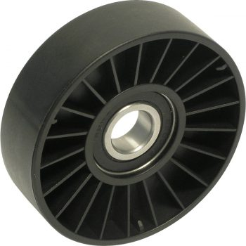 Flat Belt Idler Pulley 3.5 FLAT PLSTC W/O FL