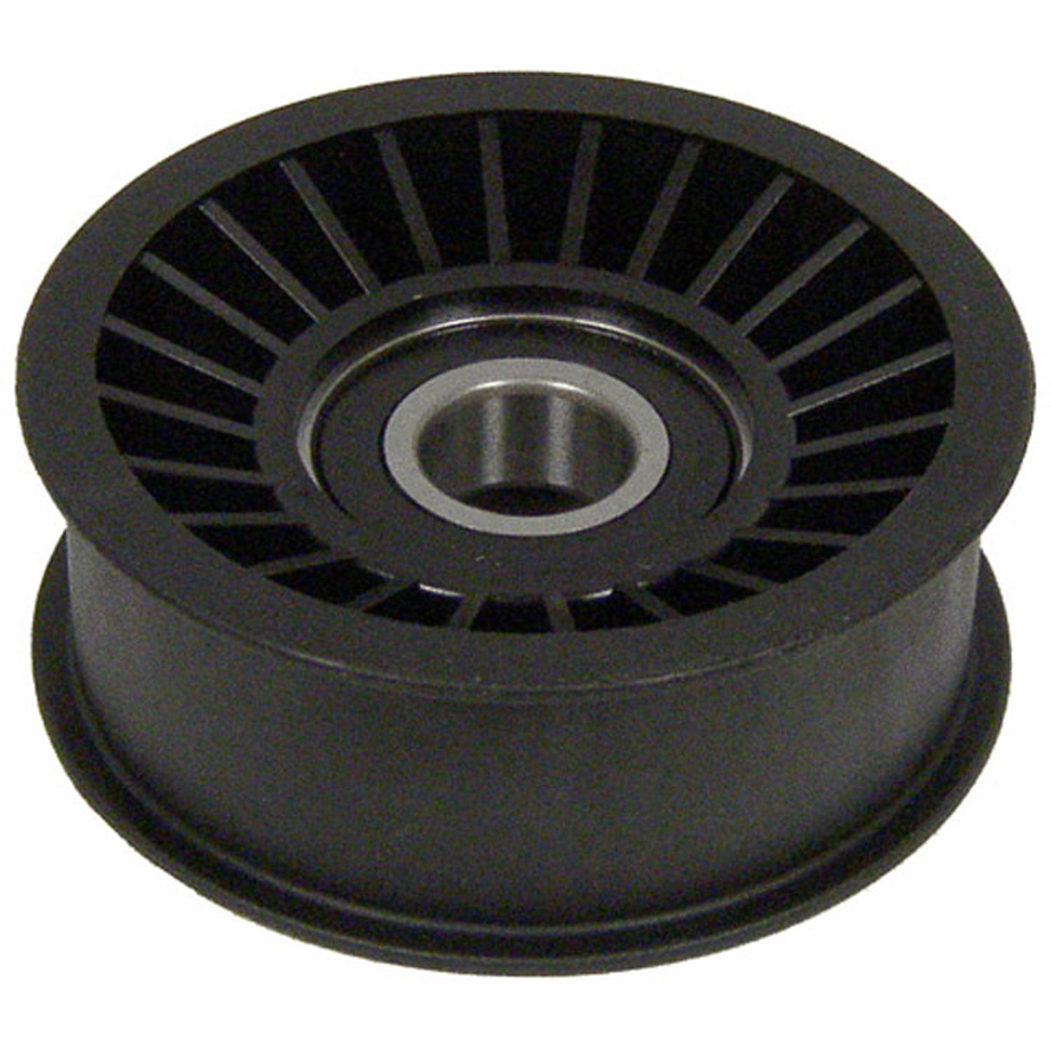 Flat Belt Idler Pulley 3 76MM FLAT W/FLANGE