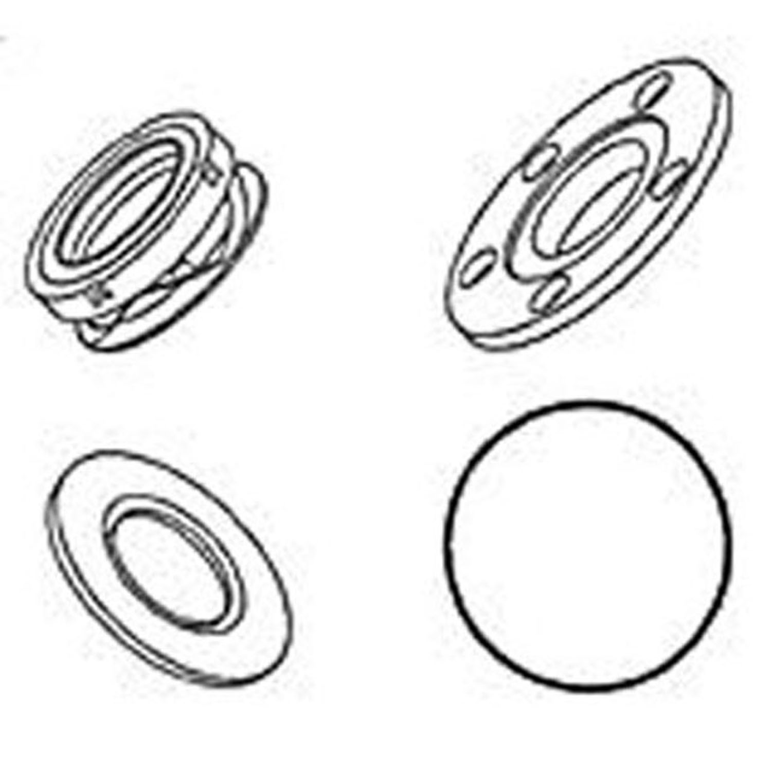 Shaft Seal YORK 210 5 BOLTS 76-6