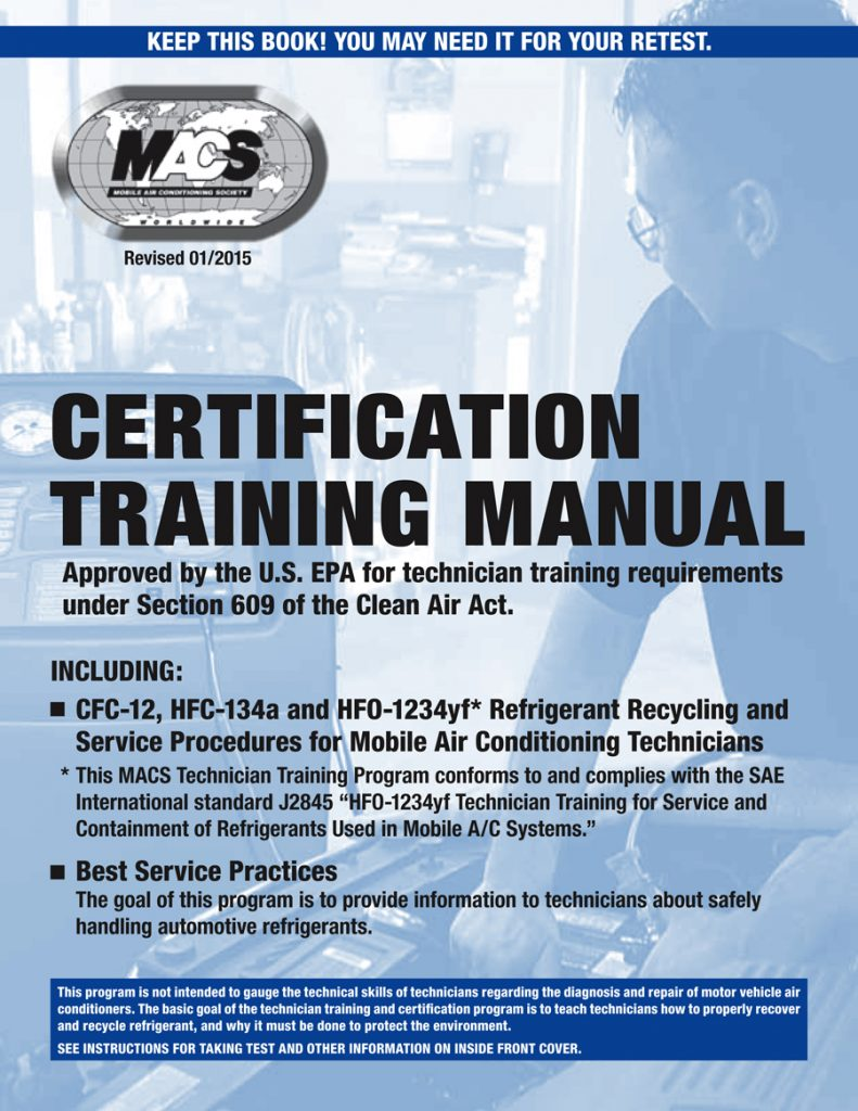 Section 609 Training Certification